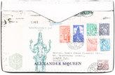 Alexander McQueen print cardholder