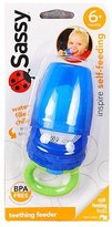 Sassy Select Color Baby Teething Feeder (Blue)