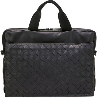 Bottega Veneta Men's Ultra-Light Leather Briefcase