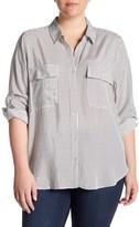 Tart Carol Stripe Blouse (Plus Size)