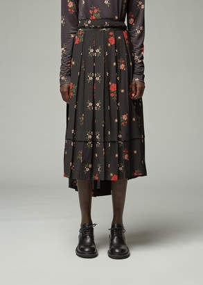 Simone Rocha Deconstructed Pleated Skirt
