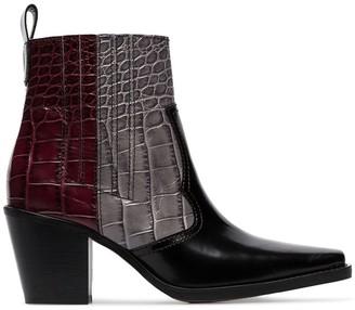 Ganni Western cowboy boots