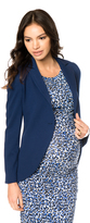 A Pea in the Pod Isabella Oliver 1 Button Closure Maternity Blazer