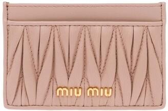 Miu Miu Matelasse Card Case