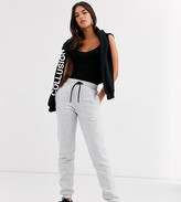 COLLUSION Tall skinny jogger in gray
