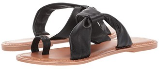 Seychelles Mint Condition (Black Leather) Women's Sandals