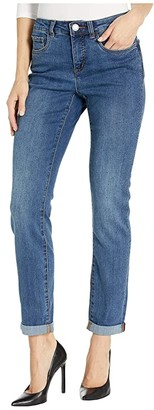 FDJ French Dressing Jeans Olivia Slim Leg with Constellation Stones in Twilight (Twilight) Women's Jeans