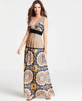 Ann Taylor Kaleidoscope Maxi Dress