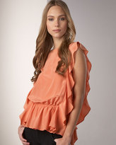 Reversible Cinched Top