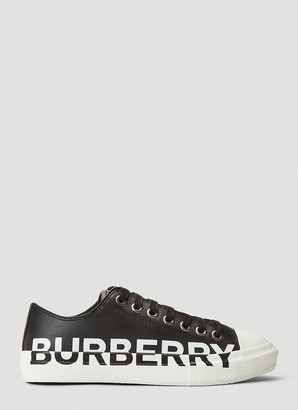 Burberry Logo Two Tone Sneakers