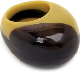 Marni Curved resin ring