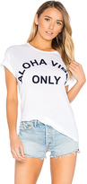 Mikoh Aloha Vibes Tee in White. - size 1 (also in 2,3)
