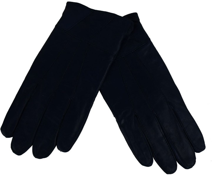 Brown S//M laylawson Ladies Womens Genuine Soft Winter Driving Leather Gloves with Fleece Lining and Bow