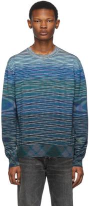 Missoni Blue Wool Sweater