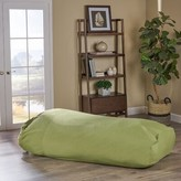 Large Outdoor Friendly Bean Bag Lounger Bayou Breeze Upholstery Color: Green