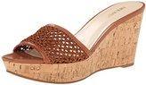 Nine West Women's Edmonda Fabric Wedge Sandal