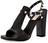 Valentino Rockstud T-Strap 105mm Sandal