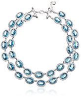 "Carolee LUX ""Cotton Candy"" Double Row Necklace, 18"""