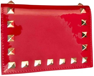 Valentino Red Patent leather Wallets