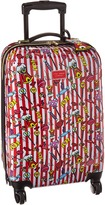 Betsey Johnson Candy Cane Carry-On Luggage
