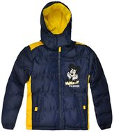Disney Boys Official Mickey Mouse Puffa Coat New Kids Outerwear Jacket