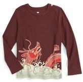 Tea Collection Koi & Dragon Graphic T-Shirt (Toddler Boys & Little Boys)