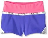 Girls' Gymnastics Color-Block Shorts - Circo