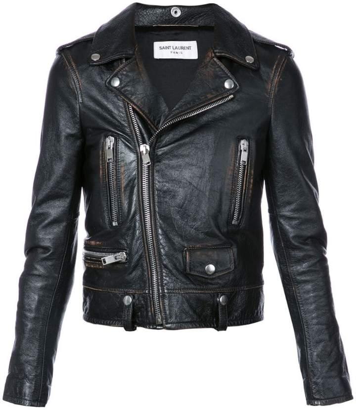 5c71a191908 Saint Laurent Biker Women's Jackets - ShopStyle