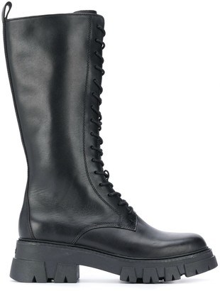 Ash Lullaby Combo knee-high boots