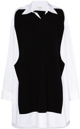 Maison Margiela Panelled Shirt Dress