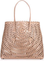 Alaia Dark beige leather cut-out bag