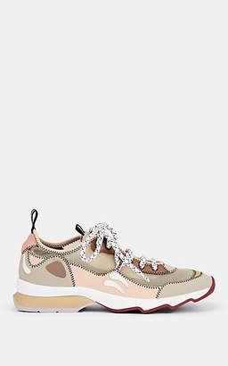 Fendi Women's Tech-Fabric & Mesh Sneakers - Nudeflesh