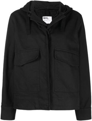 Margaret Howell Hooded Wool Jacket