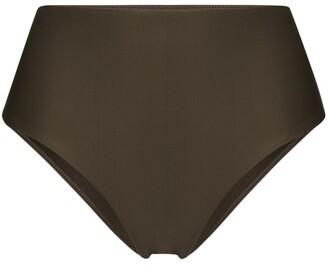 Matteau High-Waist Bikini Bottoms