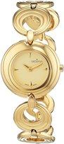 Grovana Women's 4567-1111 Ladies Dress line Analog Display Swiss Quartz Gold Watch