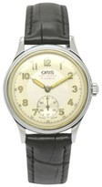Oris Pointer Date Stainless Steel & Leather Hand-Winding 31.5mm Mens watch