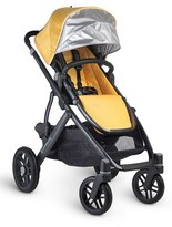UPPAbaby Infant Vista Maya Carbon Finish Aluminum Frame Convertible Stroller With Bassinet & Toddler Seat