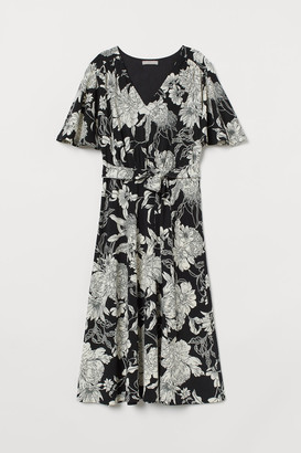 H&M Jersey crepe dress