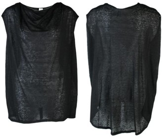 Format Briz Shirt Linen - schwarz / M-L