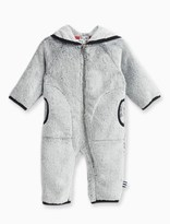 Splendid Baby Boy Faux Fur Hooded Coverall