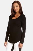 Karen Kane Women's Long Sleeve Scoop Neck Tee
