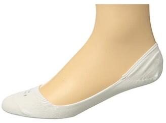 Falke Cool 24/7 Invisible Sock (White) Men's Crew Cut Socks Shoes