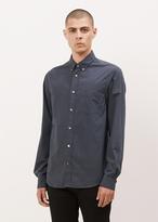 Acne Studios navy isherwood poplin shirt