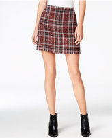Sanctuary Siena Plaid Mini Skirt