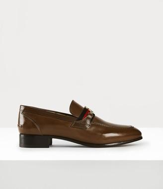 Vivienne Westwood Men's Orb Loafer Brown