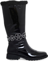 Lelli Kelly Kids Ann knee-high patent leather boots 6-10 years