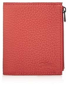 Longchamp Essential Leather Bi-Fold Wallet