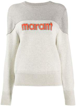 Etoile Isabel Marant two tone pullover