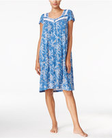 Charter Club Crochet-Trimmed Nightgown, Only at Macy's