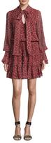 Alexis Elida Silk Flared Dress